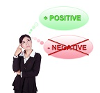 Turning negative thoughts into positive