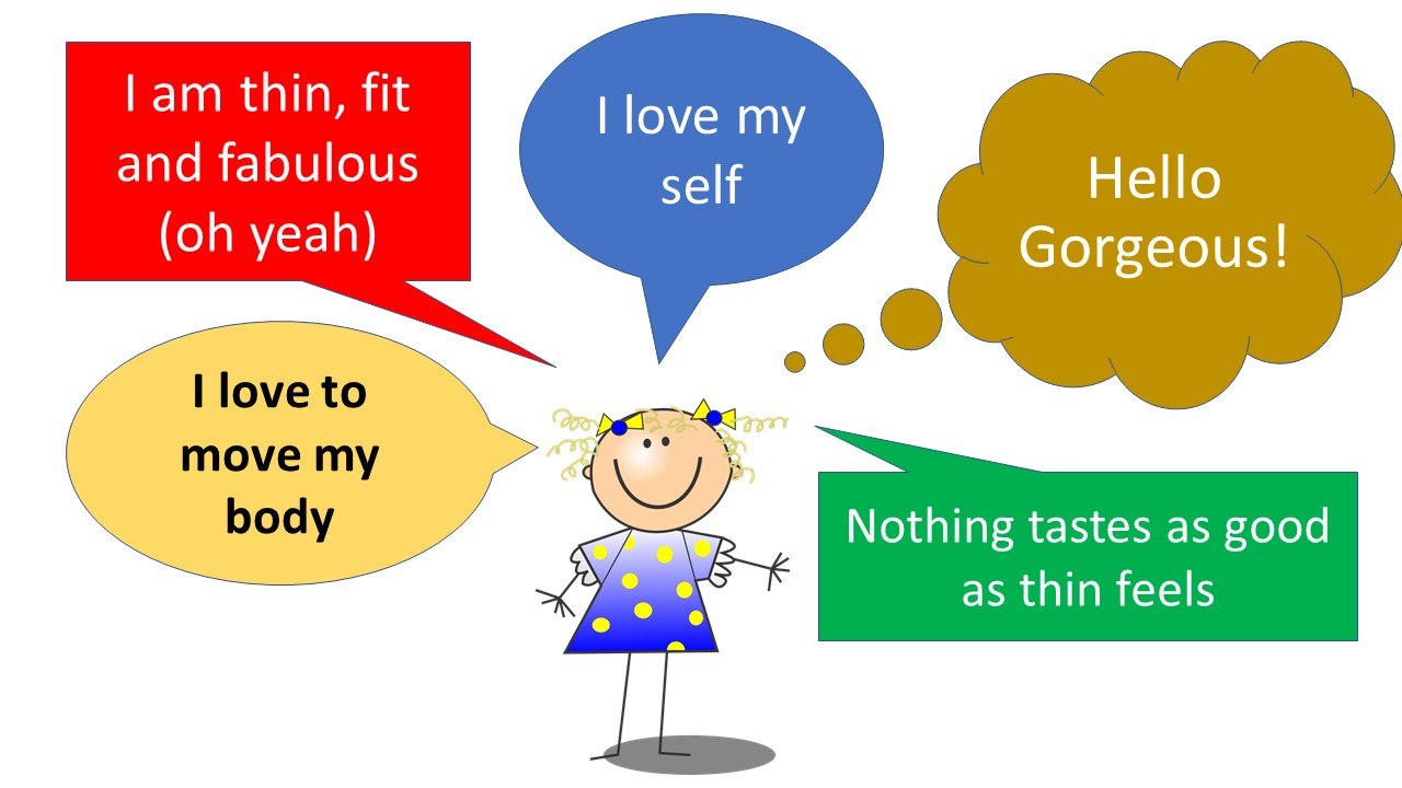 We make affirmations for weight loss 20