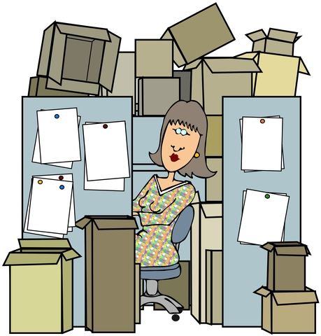 Ways to manage stress - declutter